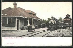 AK St. Peter, MN, Omaha Depot