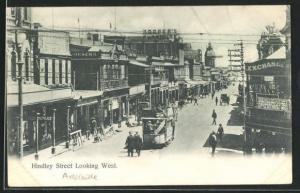 AK Adelaide, Hindley Street looking West