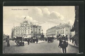 AK London, Piccadilly Circus