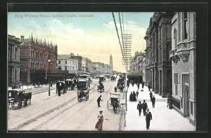 AK Adelaide, King William Street looking South