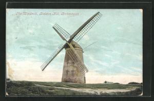 AK Birkenhead, The Windmill at Bidston Hill, Windmühle