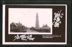 Passepartout-AK Withernsea, The Lighthouse, Hull Rd.