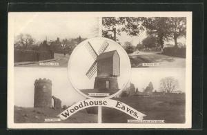 AK Woodhouse Eaves, The Windmill, Beacon Rd., Old John