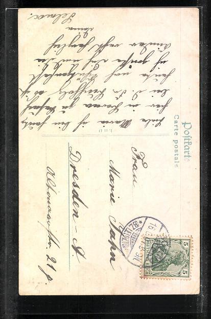 AK Borna i. Sa., Blick auf Bismarckdenkmal, Breiter Teich, Rathaus, Stadtkirche und Bahnhof 1
