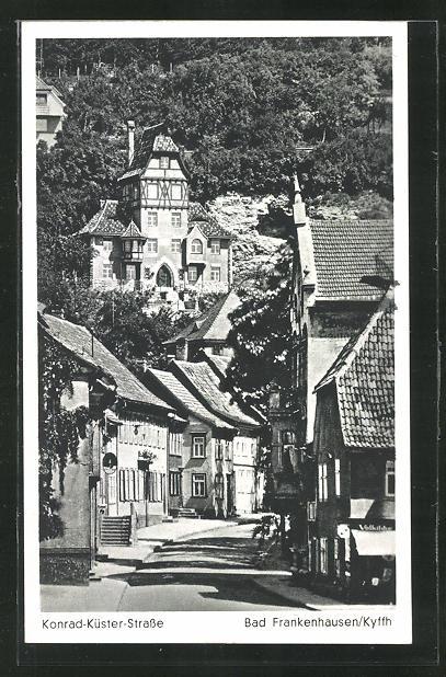 AK Bad Frankenhausen / Kyffh., Konrad-Küster-Strasse 0