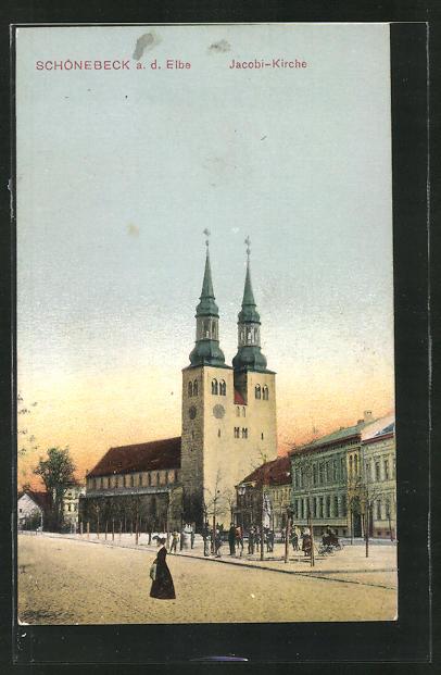 AK Schönebeck / Elbe, Jacobi-Kirche 0