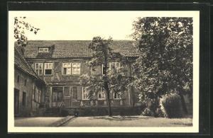 AK Gernrode / Harz, Erholungs- u. Freizeitheim der Ev. Landeskirche Anhalts