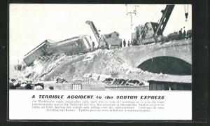 AK Grantham, Accident to the Scotch Express, September 19th 1906, Eisenbahnkatastrophe