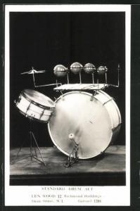 AK Standard Drum Set, Len Wood, Schlagzeug