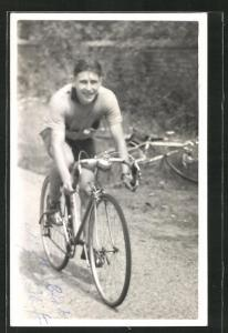 AK Radrennfahrer Doug Goldkington auf dem Rennrad
