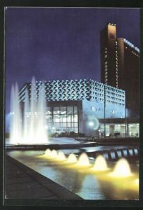AK Karl-Marx-Stadt, Stadthalle und Interhotl Kongress
