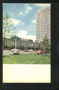 AK Moscow / Moskau, Moscow Book House on Kalinin Avenue, Neubau