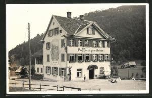 Foto-AK Brunnadern, Gasthaus zum Anker