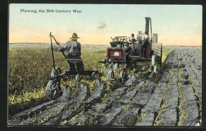 AK plowing in the 20th century