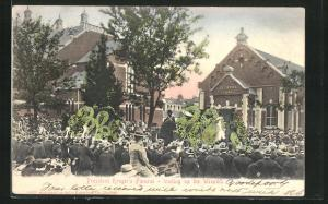 AK President Kruger`s Funeral, loading up the Wreaths, Burenkrieg