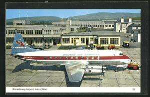 AK Isle of Man, Ronaldsway Airport, Flughafen
