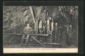 AK Johannesburg, Robinson Gold Mine, Electric Pump, Bergbau