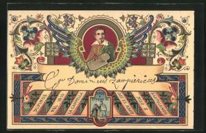 AK Maler Dominicus Zampiericus, S. Nilo Ottone III