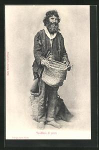 AK Venditore di pesci, Fischverkäufer