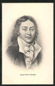 Künstler-AK Portrait Samuel Taylor Coleridge