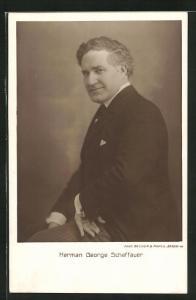 AK Schriftsteller Herman George Scheffauer