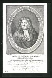 AK Antony van Leeuwenhoek 1632-1723, Natural History