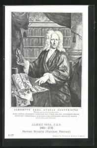 AK Albert Seba 1665-1736, Natural History