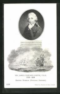 AK Sir James Edward Smith 1759-1828, Forschungsschiffe, Natural History
