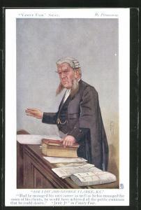 AK Sir Edward George Clarke, K.C., britischer Rechtsanwalt, Politiker & Generalstaatsanwalt