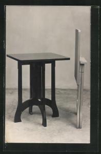 AK Tisch mit Klappstuhl, Bauhaus