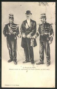 AK Le Marquis de Dion - Attentat contre un représentant du Peuple, Automobilpionier, Dreyfus-Affäre