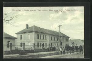 AK Kevevara, Offiziers-Pavillon