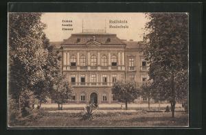 AK Zemun-Semlin, Reáliskola - Realschule