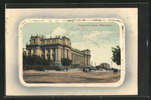 AK Melbourne, Parliament House, Gebäudeansicht