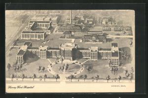 AK Detroit, MI, Henry Ford-Hospital