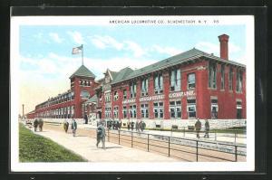 AK Schenectady, NY, American Locomotive