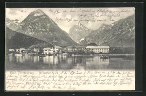 AK Achensee, Hotel Fürstenhaus