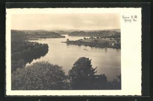 AK Lagow, Blick über den See