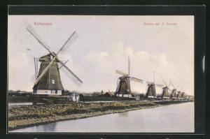 AK Rotterdam, Molens aan de Boezen