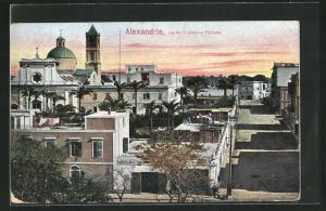 AK Alexandrie, rue de la colonne Pompée