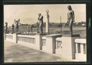 AK Oslo, Vigeland Skulpturenpark, Frogner