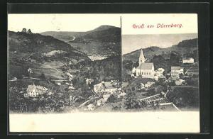 AK Dürrnberg, Teilansichten