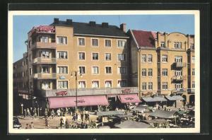 AK Linköping, Tempohuset, Trädgardstorget