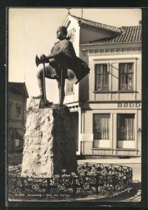 AK Sarpsborg, Olav den Hellige, Standbild