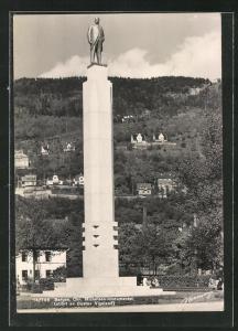 AK Bergen, Chr. Michelsen-monumentet, Standbild
