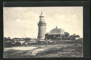 AK Bornholm, Hammershus Fyr., Leuchtturm