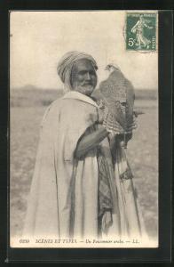 AK Un Fauconnier arabe, Arabischer Falkner