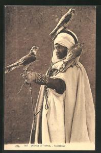 AK Fauconnier, Falkner aus Nordafrika
