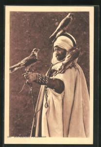AK Touggourt, Fauconnier, Algerischer Falkner