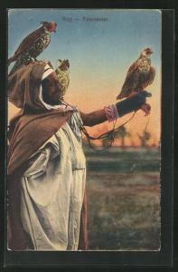 AK Fauconnier, Nordafrikanischer Falkner